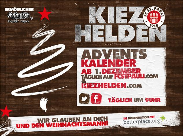 Artikelbild Der KIEZHELDEN-Adventskalender ist am Start!