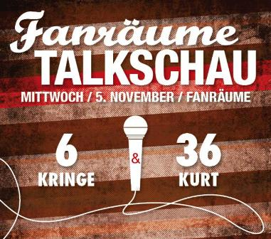 Artikelbild 05.11.14 - Talkschau in den Fanräumen